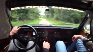 Walter Röhrl Lancia 037 Eifel Rallye Party 2011 Shakedown Sarmersbach