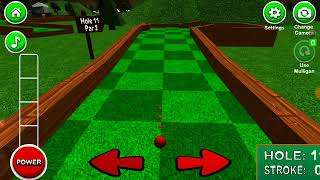 Mini golf 3D classic part 3