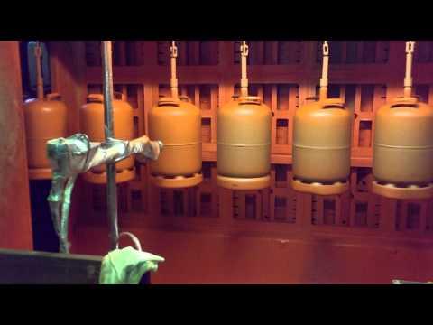 Electrostatic Gas Bottles Coating