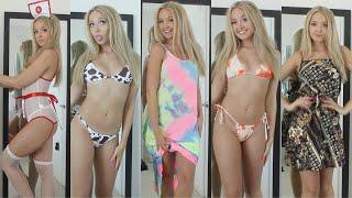 HUGE TRY ON HAUL ~ Bikinis, Dresses, Lingerie & more (SHEIN)