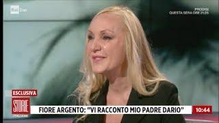 """Fiore Argento: """"vi Racconto Mio Padre Dario"""" 1^ Parte - Storie Italiane 30/11/2018"""