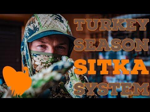 My Sitka Gear SUBALPINE Sytem For TURKEY HUNTING