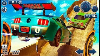 GT Racing Car City Stunt - Impossible Stunt Mode Car Games - Android GamePlay