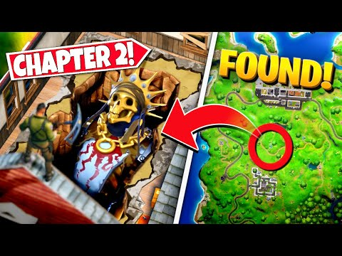 *NEW* FORTNITE GOLD KING EVENT LOCATION *FOUND* IN CHAPTER 2! (Battle Royale)