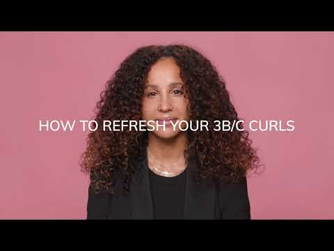 HOW TO REFRESH TYPE 3B/C HAIR USING CURL TALK