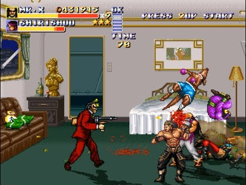 Streets of Rage Remake Brutal Fury PC Blood Suit