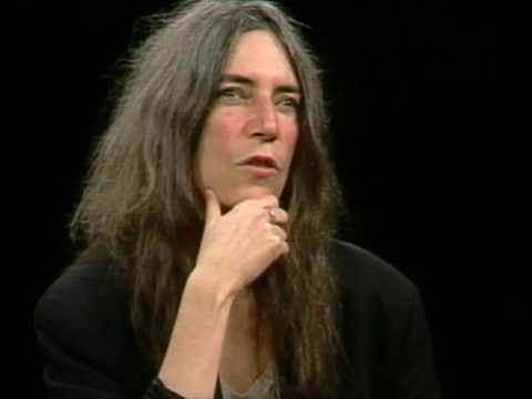 Patti Smith Job İnterview On Charlie Rose 1997 & PATTY DUKE ROBERT PRESTON İn September