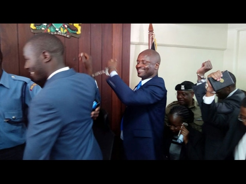 Jailed KMPDU officials released