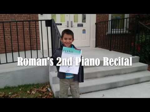 Roman's Second Piano Recital