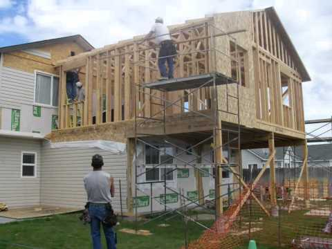 Home Addition in 157 Seconds