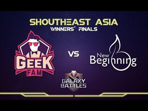 Geek Fam vs NB Game 1 - Galaxy Battles II SEA Qualifier: Group A Grand Finals - @LysanderXonora