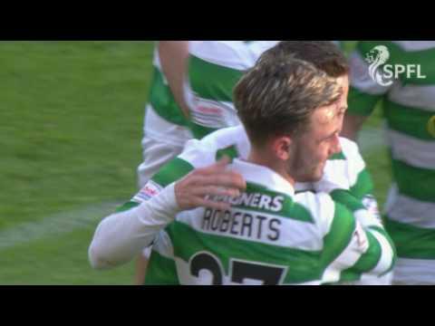 Patrick Roberts scores sensational goal for Celtic