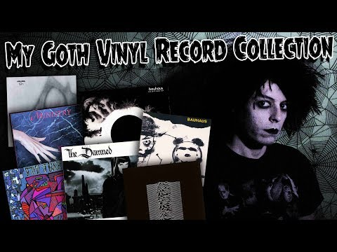 My Goth Vinyl Record Collection - GothCast