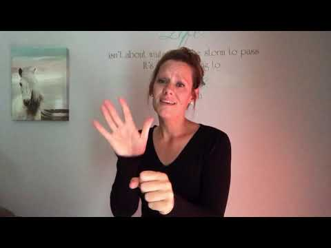 You Say by Lauren Daigle, ASL (American sign language)