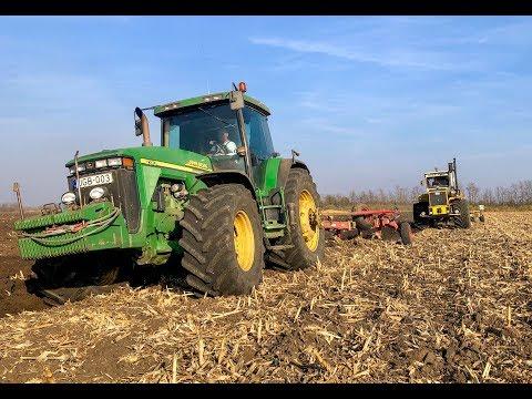 Plowing 2018 / SZÁNTÁS | John Deere 8310 + Rabe Condor | Rába Steiger letöltés