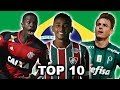 Top 10 Young Players (U21) in Brazil 2017/18 (HD)