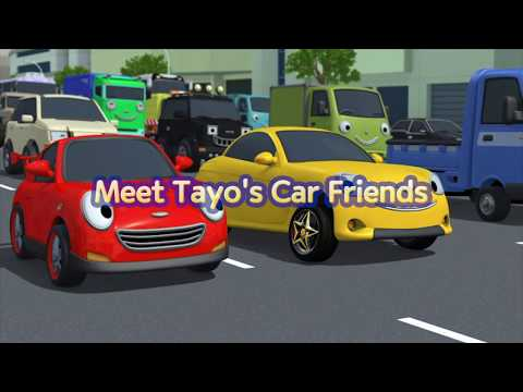 Tayo Character Song L Tayo Name Song L Meet Tayo's Car Friends L Tayo The Little Bus