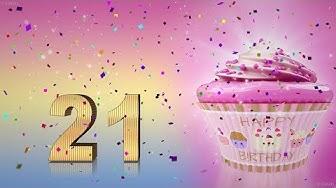 Geburtstagslied Zum 21. Geburtstag. Happy Birthday To You. Lustiges Geburtstags Video.