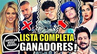 GANADORES de Latin American Music Awards 2021 | LISTA COMPLETA | LatinAMAs | Karol G Bad Bunny y MAS