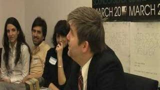 "LCD Soundsystem - ""Backlash"" Press Conference (Part 3 of 6)"