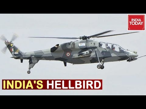 India Today Takes Flight In India's First Indigenous Built Light Combat Helicopter
