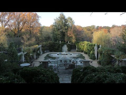 Dumbarton Oaks Gardens: Pebble Garden