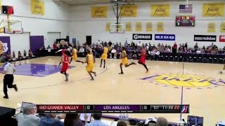 Highlights: Jabari Brown (25 points) vs. the Vipers, 3/6/2015