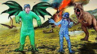 PROCURANDO BRINQUEDOS DE DINOSSAUROS FEROZES (Jurassic Park)