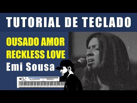 How to Play Ousado Amor (Reckless Love) - Gabi Cavalcante - (Keyboard Tutorial)