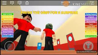 ROBLOX the first series (Escape from the pizzeria)