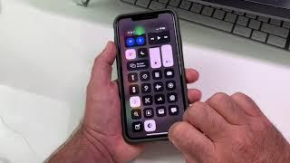 Astuce iOS 13 Bêta6 Comment Mettre Le  Mode Clair Mode Sombre  Dans Le Centre De Control  !