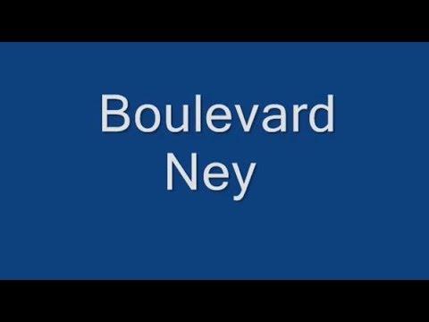 Boulevard Ney Paris Arrondissement  18e