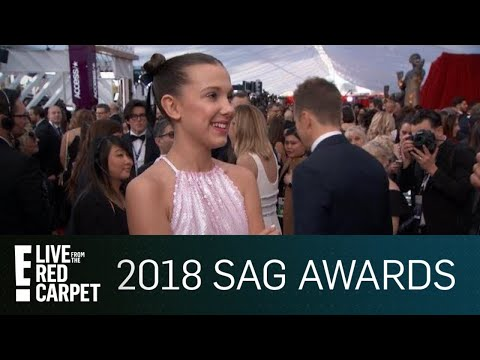Millie Bobby Brown Tells How She Stays Grounded  E Red Carpet & Award Shows