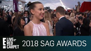 Millie Bobby Brown Tells How She Stays Grounded | E! Live from the Red Carpet