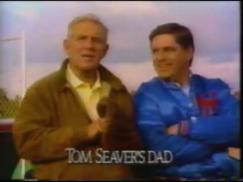 1989 Tom Seaver Olds Cutlass Supreme commercial