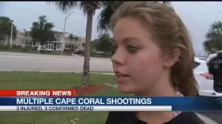 3 killed, including gunman, in Cape Coral shooting spree - Sun. 11 p.m.