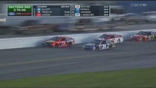 Monster Energy NASCAR Cup Series 2017. Daytona 500. Battle For Win