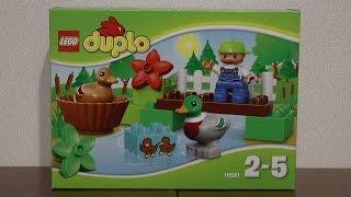Видео обзоры LEGO Duplo Уточки в лесу
