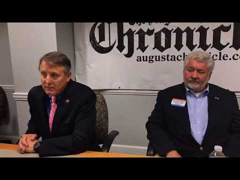 Candidates for Columbia County chairperson answer questions at Chronicle Forum