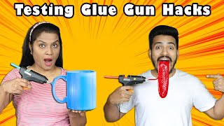 Testing Viral Glue Gun Hacks | Amazing Glue Gun Crafts | Hungry Birds