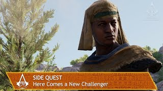 Assassin's Creed Origins - Side Quest - Here Comes a New Challenger