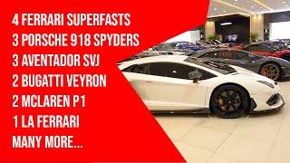 شاهد: الفخامة في أكبر صالة للسيارات الفاخرة في دبي | البوابة