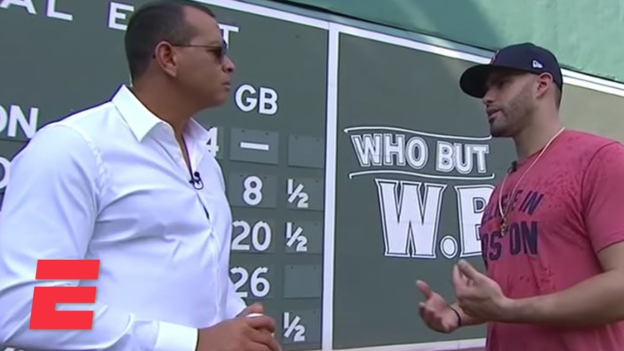 J.D. Martinez interview with Alex Rodriguez about Red Sox DH's rise to stardom