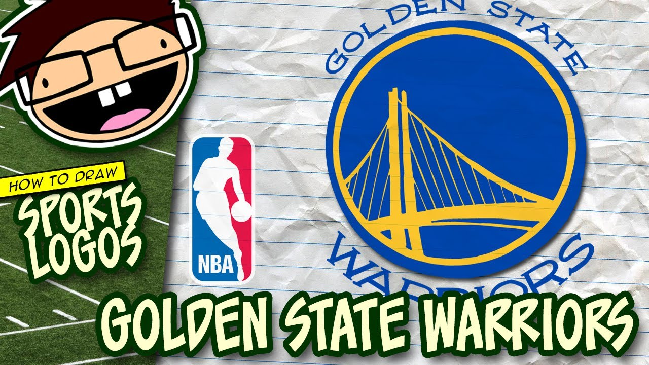 cabf3f9ff66 How to Draw the GOLDEN STATE WARRIORS Logo (NBA)