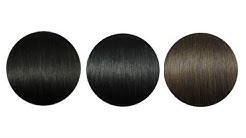 Hair color demonstration - Difference between dark shades #1 #1b #2