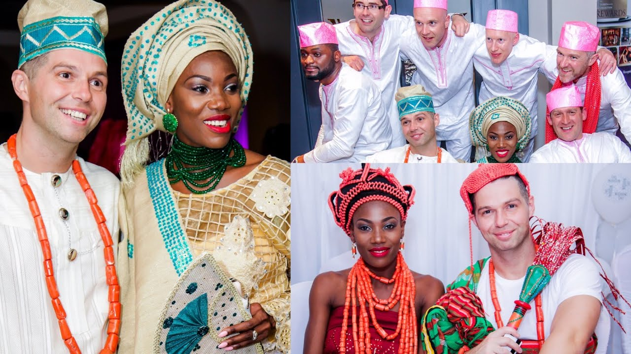 OUR TRADITIONAL NIGERIAN WEDDING  EDO  BINI MARRIAGE Abies and Tom  YouTube