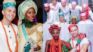 OUR AFRICAN TRADITIONAL WEDDING: NIGERIAN EDO/BENIN TRADITIONAL WEDDING |Abies and Tom