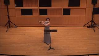 Eftihia V. Arkoudis -  VOICE for solo flute by Toru Takemitsu