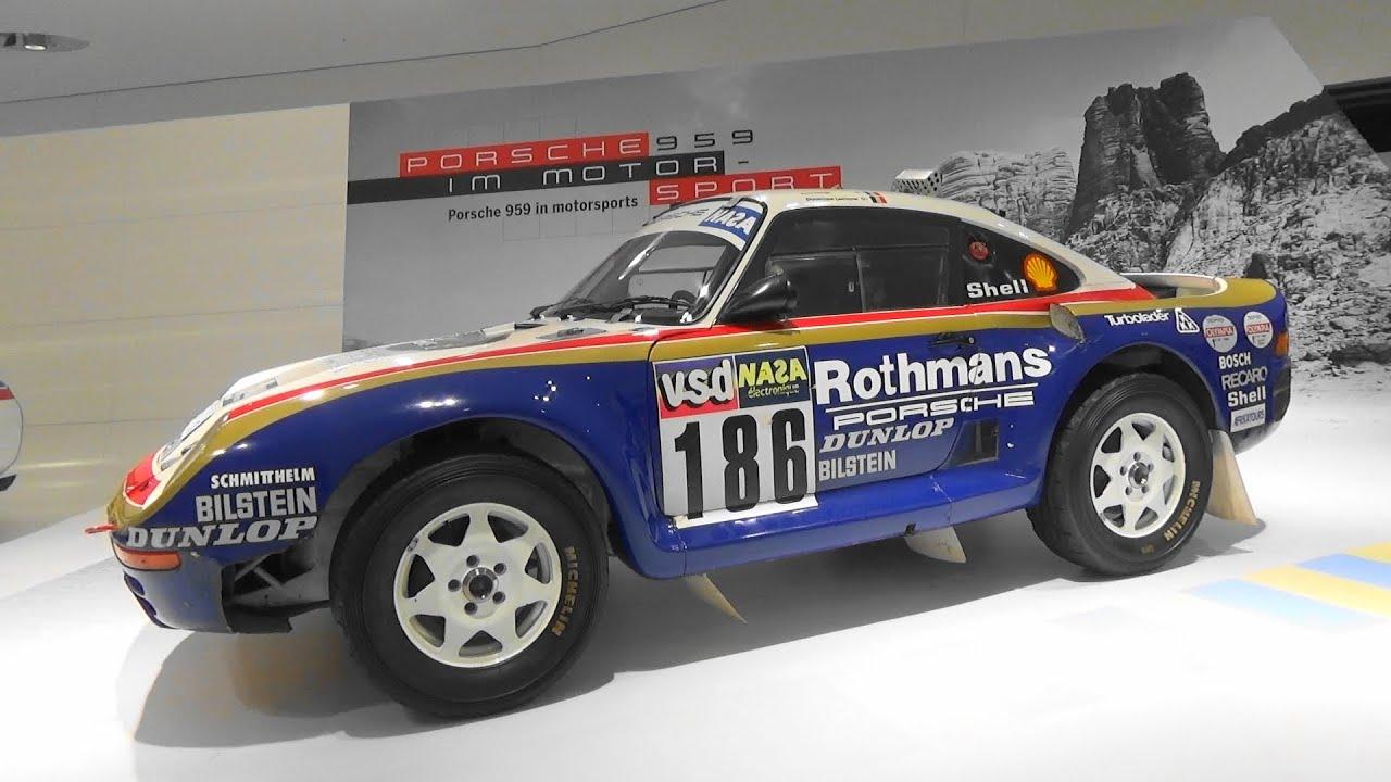 Porsche 959 Paris Dakar The Super Porsche Porsche Museum Stuttgart Youtube