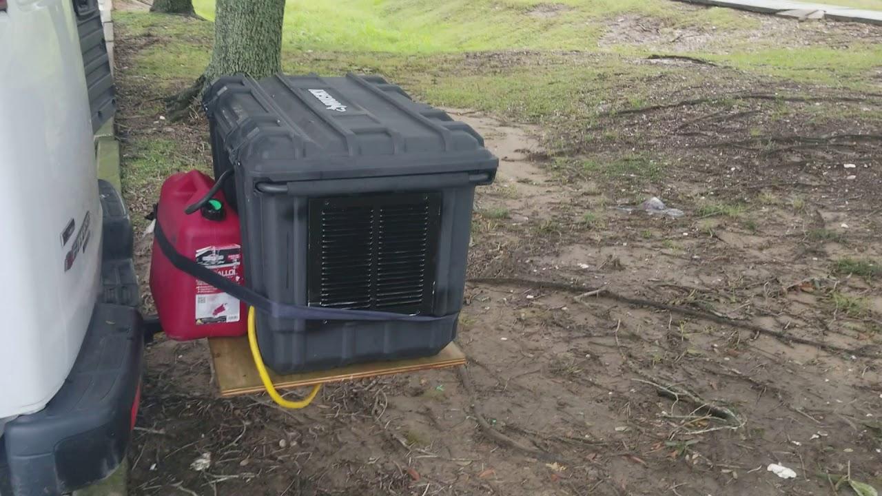honda  generator quiet box mounted   expediting van vanlife expediting freedom